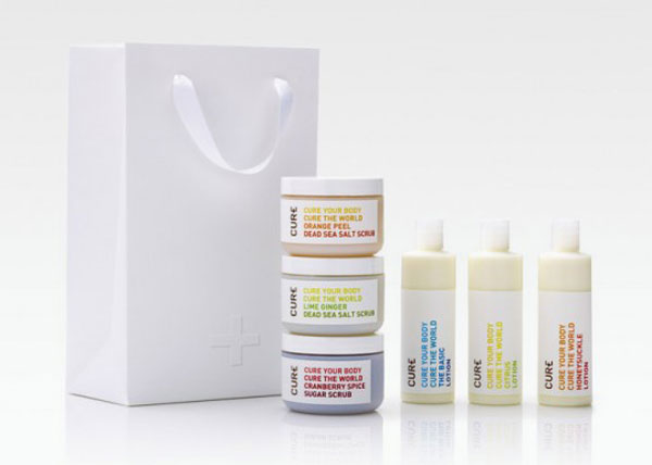 Cure Life Products Package Design Inspiration