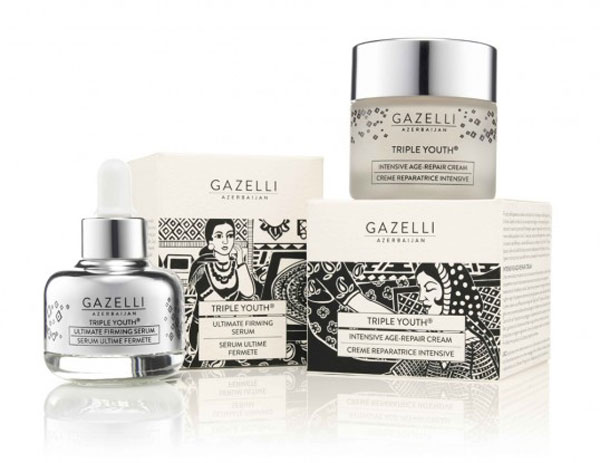 Gazelli Cosmetics Package Design Inspiration