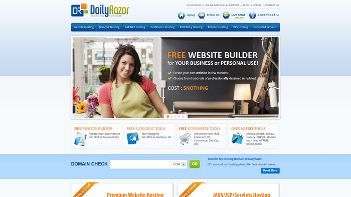 dailyrazor.com Website Hosting Provider