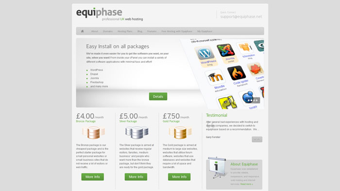 equiphase.net Website Hosting Provider