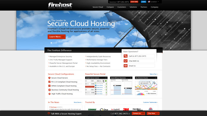 firehost.com Website Hosting Provider