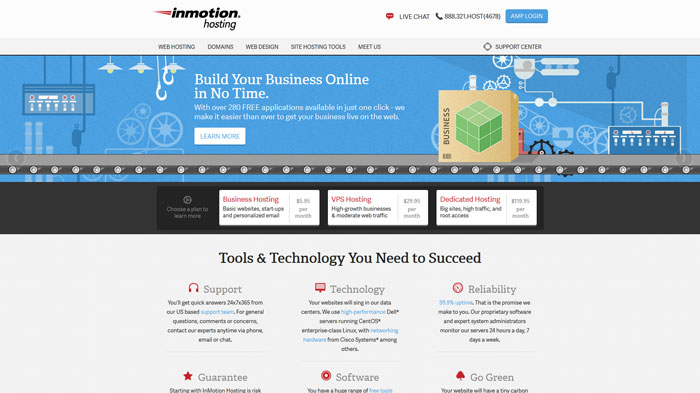 inmotionhosting.com Website Hosting Provider