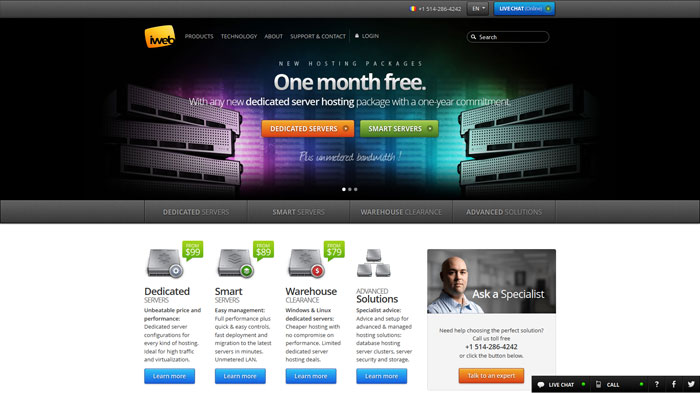 iweb.com Website Hosting Provider