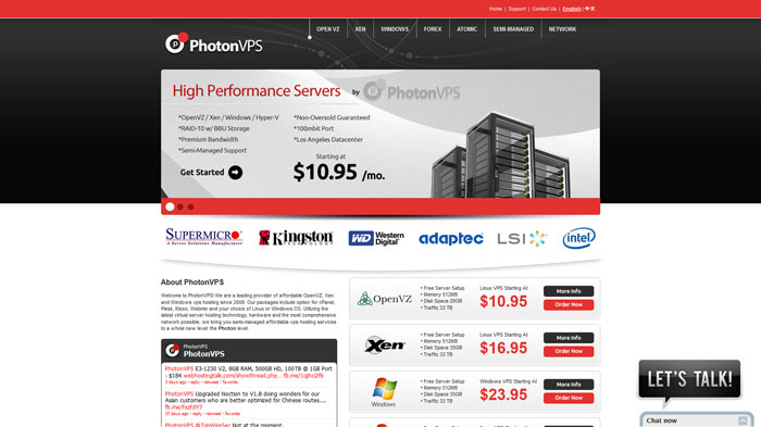 photonvps.com Website Hosting Provider