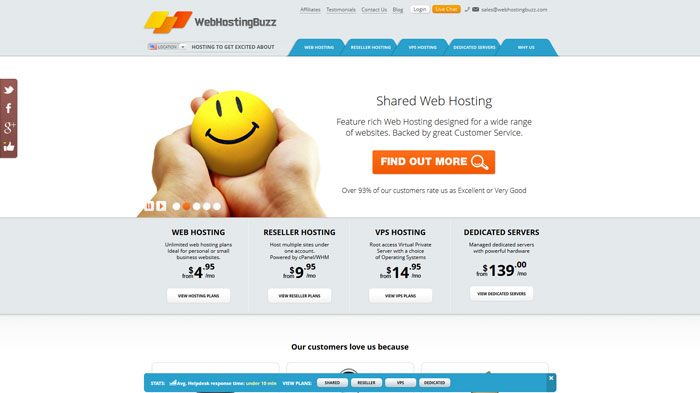 webhostingbuzz.com Website Hosting Provider