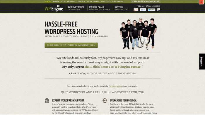 wpengine.com Website Hosting Provider