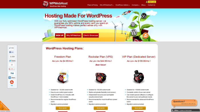 wpwebhost.com Website Hosting Provider
