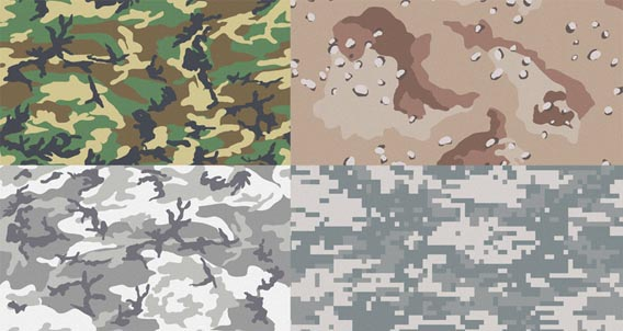 Free Camouflage Patterns for Illustrator