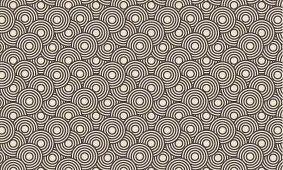 Crazy Circles Free Seamless Pattern