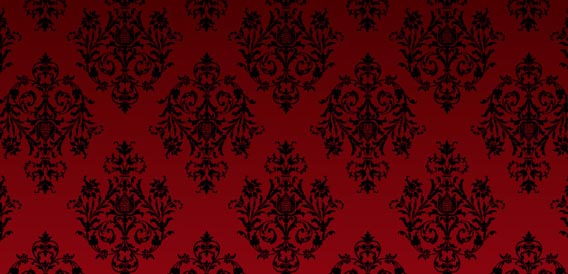 Photoshop + Illustrator Patterns: Damask No. 5