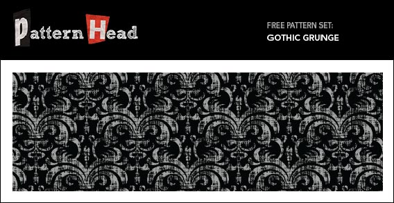 Free Vector and Pixel Pattern – Gothic Grunge