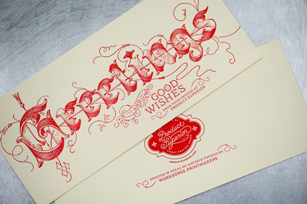 Product Superior Holiday Card Print Design Inspiration