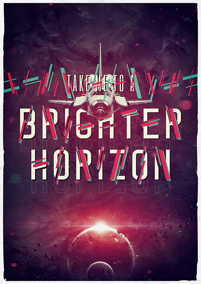 A brighter horizon Photoshop Inspiration