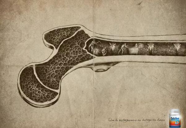 Don't let osteoporosis destroy your bones. Print Advertisement