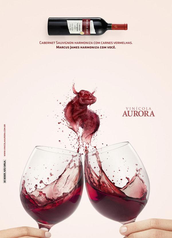 Aurora - Marcus James Photoshop Design Inspiration