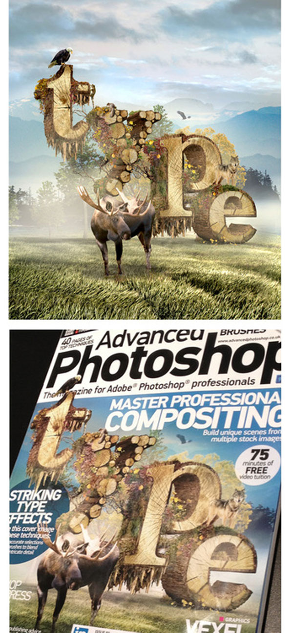 Advanced Photoshop Magazine Cover Photoshop Design Inspiration