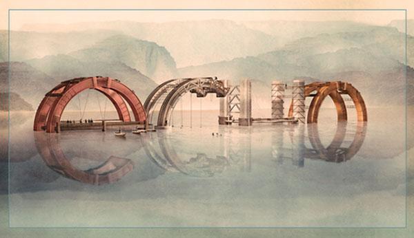 Echo Conference Illustration Photoshop Design Inspiration
