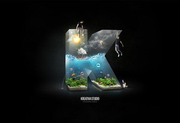 Kreativa Studio Photoshop Design Inspiration