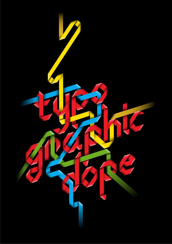 Typo-graphic Dope Italian Design Inspiration