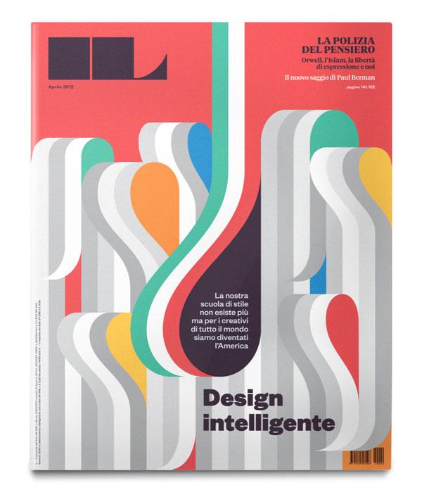 IL #40, Cover + Coverstory Design Italian Design Inspiration