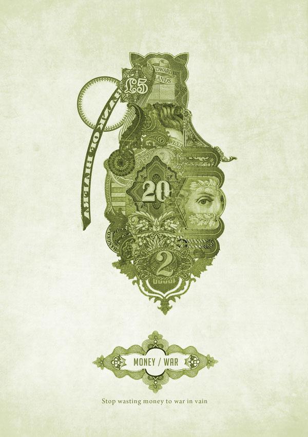 Money Posters Italian Design Inspiration