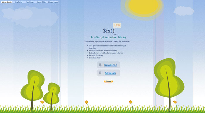 Neat jQuery Animation Plugins - 20 Examples