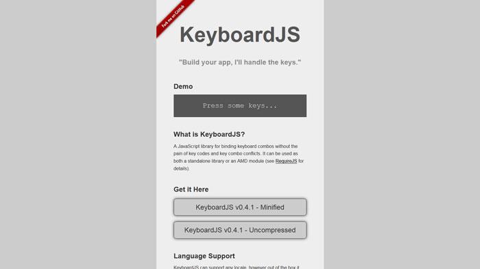 KeyboardJS
