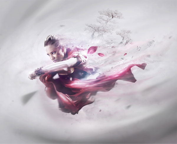 Vision Photoshop design inspiration