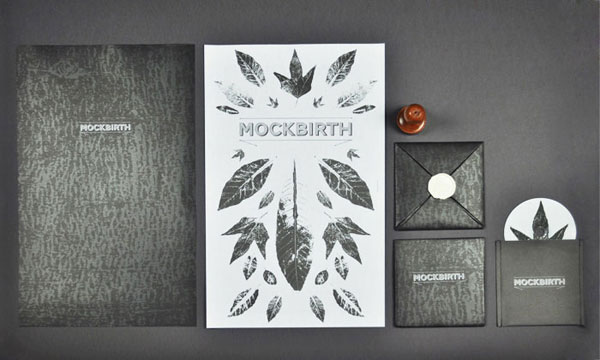 Mockbirth EP cover Package Design