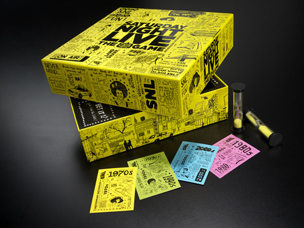 Saturday Night Live: The Game Package Design