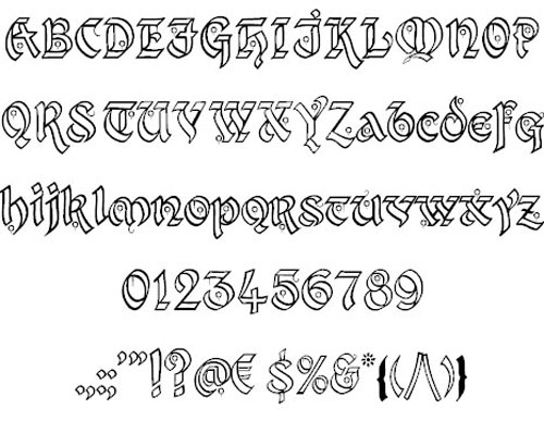 Kingthings Xander font available for free download