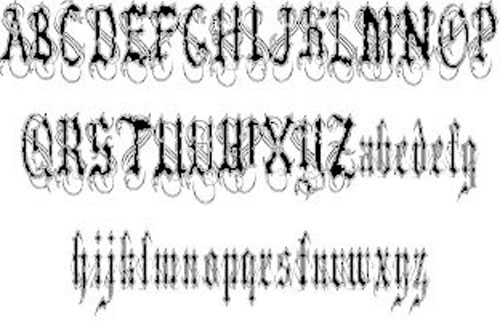 VladTepes II font available for free download