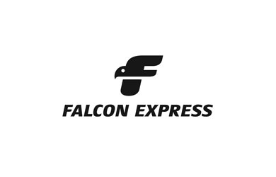 Falcon Express Logo Design Inspiration