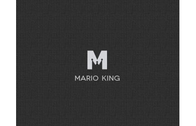 Mario King Logo Design Inspiration