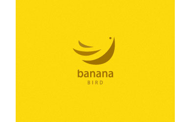 Banana bird Logo Design Inspiration