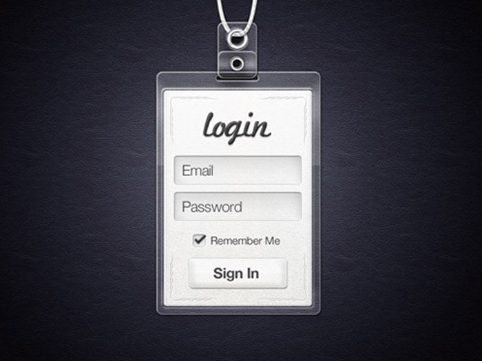 Interesting Mobile Logins To Inspire You For Your UI Projects 2