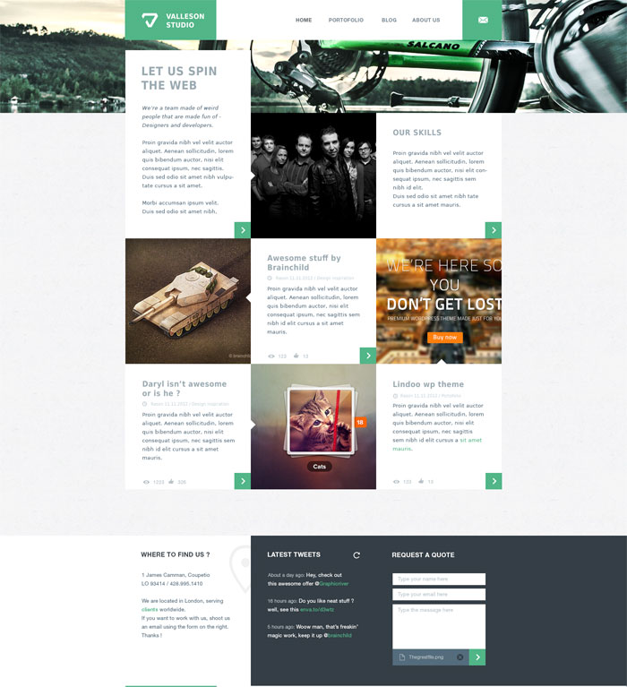 Layout Graphic Design Inspiration: Modern Website Layout Designs For Inspiration