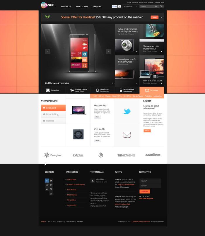 Remodeling Websites: Modern Website Layout Designs For Inspiration