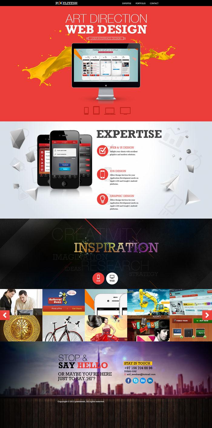 modern website layout designs for inspiration