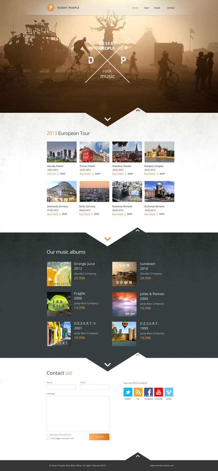 Modern Website Layout Designs For Inspiration 22 Examples