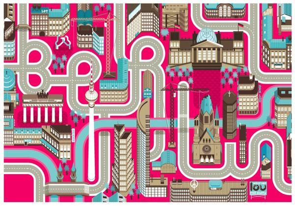 Cities, Roads & Factories #1 2 Netherlands Design Inspiration