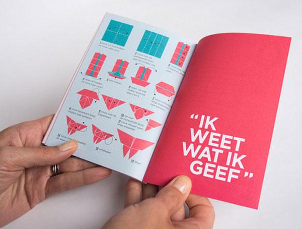 Vrijwilligersacademie Amsterdam Annual Report Netherlands Design Inspiration