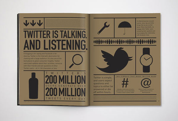 Karsh/Hagan: Social Animals Print Design Inspiration