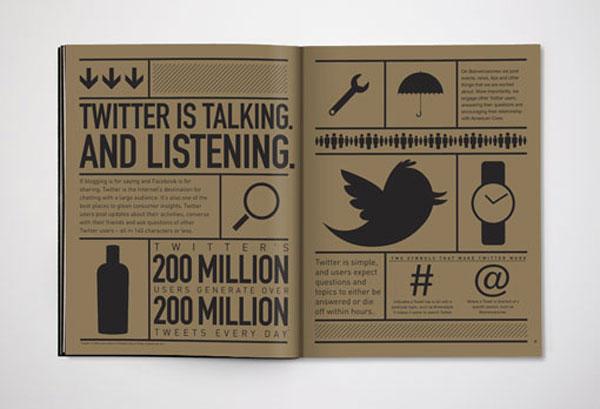 Karsh/Hagan: Social Animals Print Design Inspiration