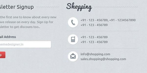 Shopping eCommerce Theme