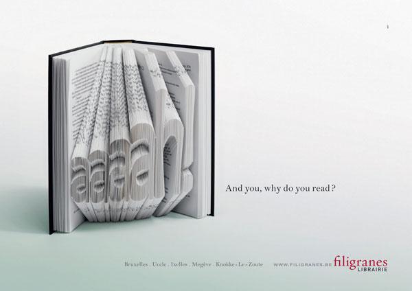 Y, usted, ¿por qué leer ideas publicitarias: 500 creativos y frescos anuncios