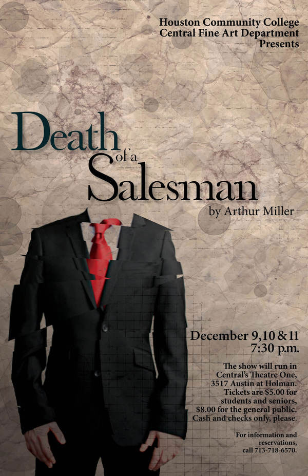 Poster Design for the play Death of a Salesman