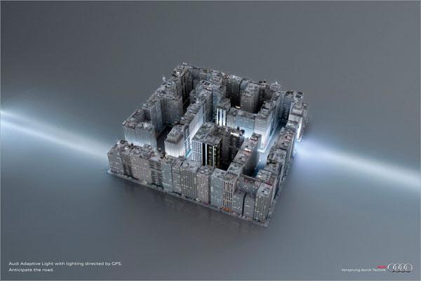 audi_labyrinth Ideas publicitarias: 500 anuncios creativos y geniales