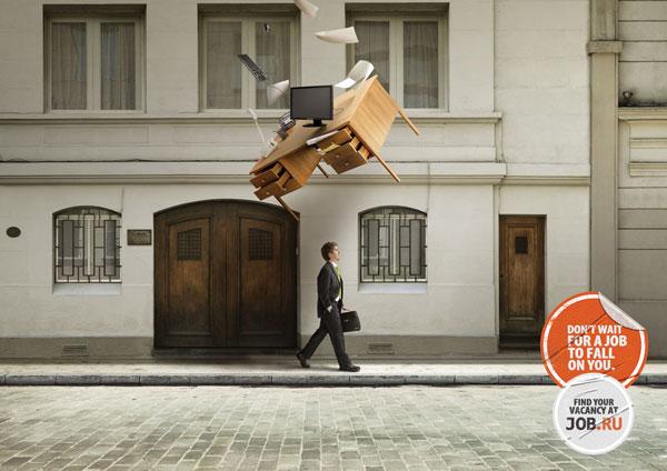 jobru_fall_clerk Ideas publicitarias: 500 anuncios creativos y geniales