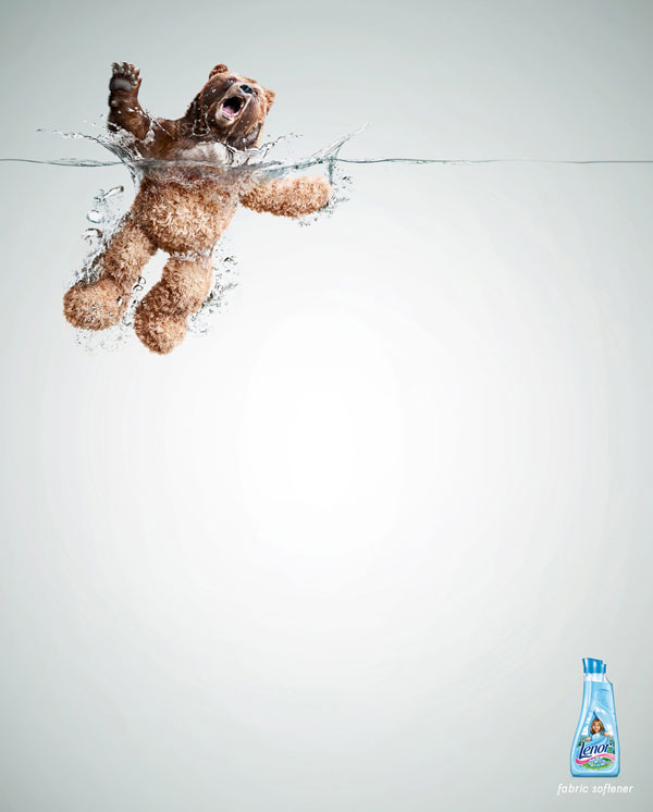 Lenor fabric softener Print Advertisement